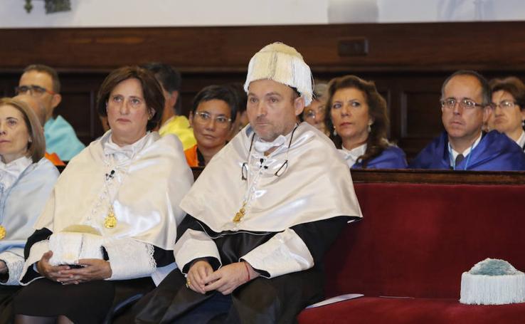 Miquel Barceló y Calvo Serraller, Honoris Causa por la Universidad de Salamanca