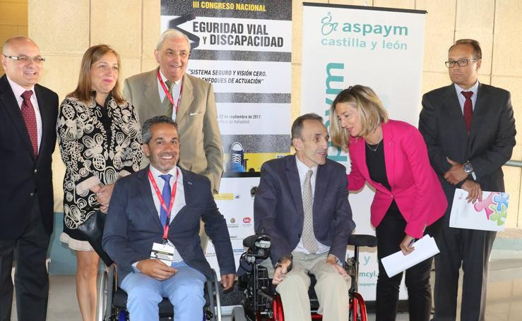 Valladolid acoge el III Congreso Nacional de Seguridad Vial y Discapacidad