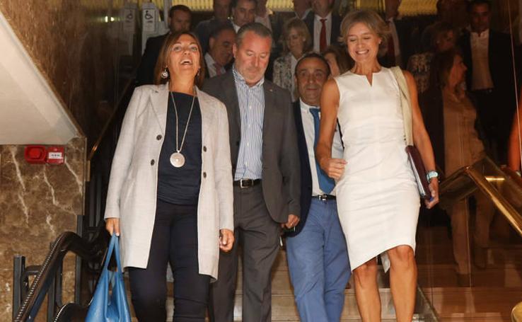 Isabel García Tejerina clausura las XXVIII Jornadas Palencia en el 2000