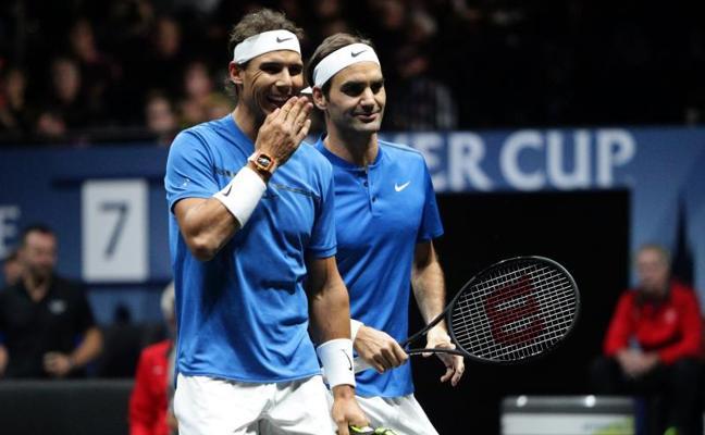 Nadal y Federer, por muchos más juntos