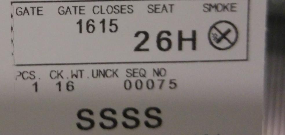 Controles más exhaustivos en los aeropuertos según el código de tu billete