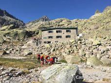 Rescatado un montañero que sufrió una caída y se golpeó la cabeza en Gredos