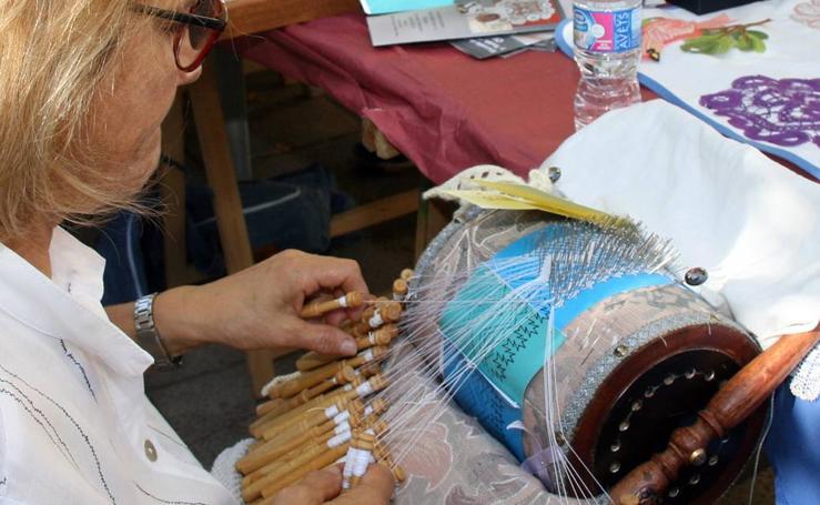 Feria entre costuras en Cuéllar