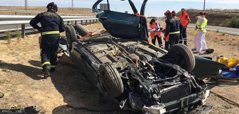 Muere un hombre en un accidente en la A-6, en la provincia de Valladolid