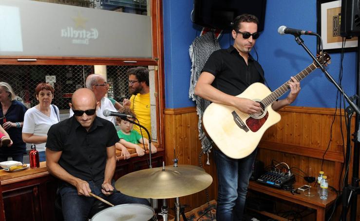Concierto de Flacovers en la Bar La Bici de Valladolid