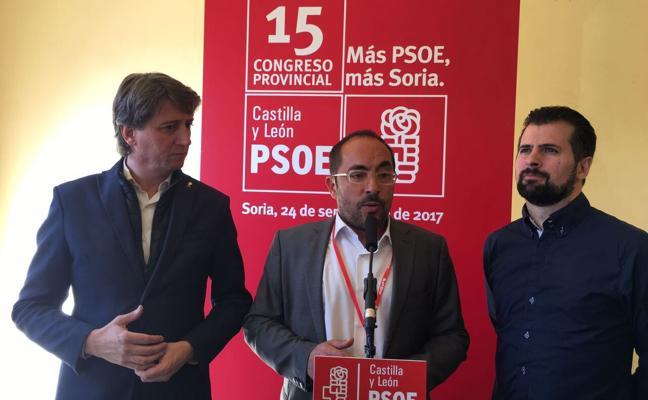 Luis Alfonso Rey de las Heras fue elegido ayer en Almajano el nuevo líder del PSOE en Soria