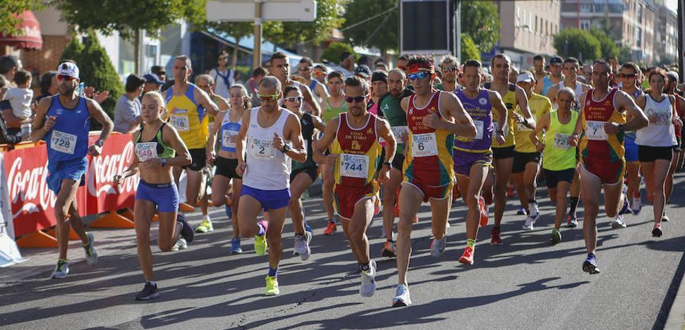 Luis Miguel Sánchez y Mónica Gutiérrez se coronan en los 10 km de Santa Marta