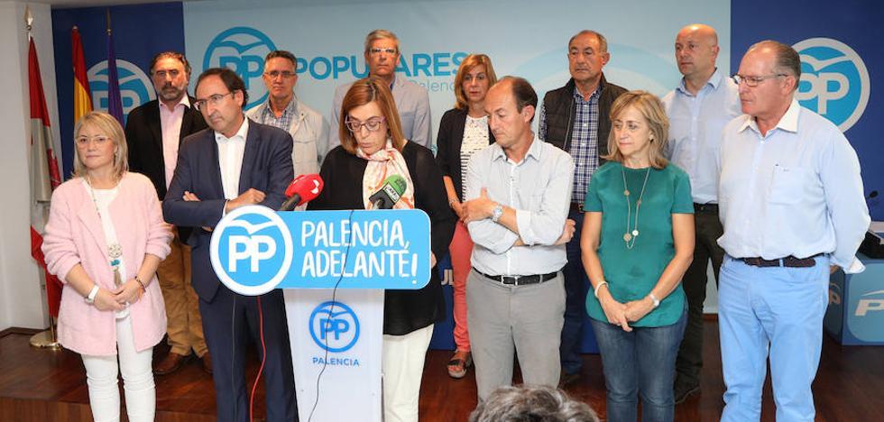 El PP de Palencia respalda a los alcaldes catalanes contrarios al referéndum