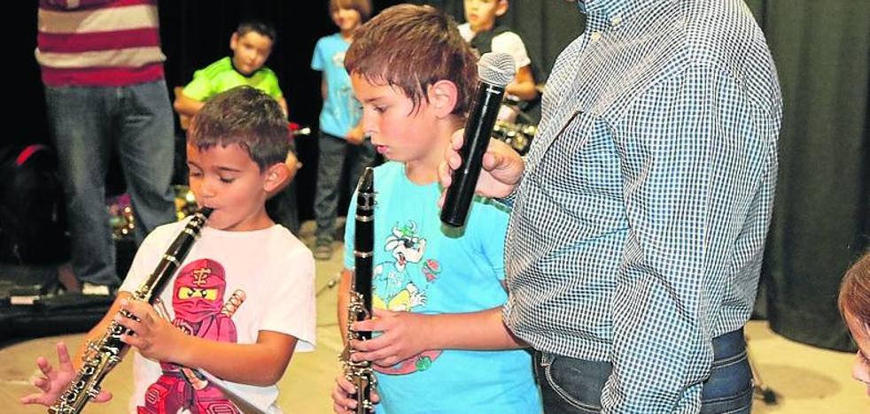 Notas musicales para los niños