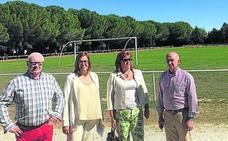 Villoldo cuenta con una nueva pista polideportiva