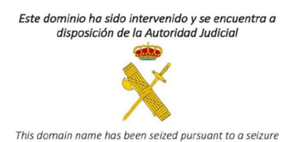 La Guardia Civil ha bloqueado esta madrugada 150 webs del referéndum