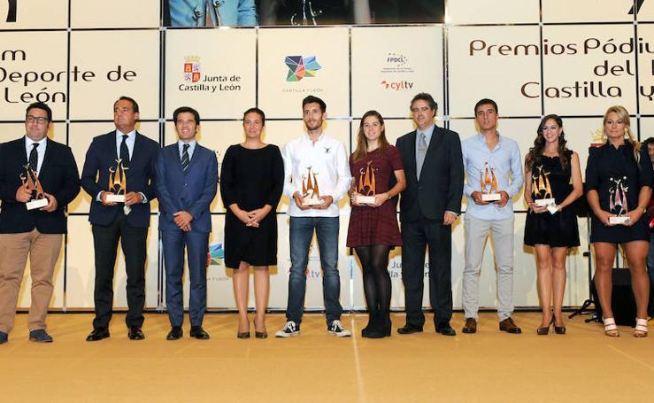 Entrega de los quintos Premios Podium del Deporte de Castilla y León
