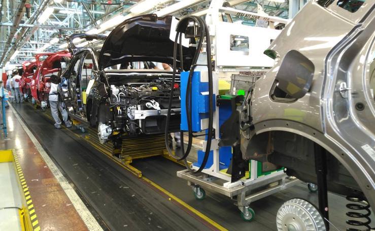 Visita a la factoría de Carrocería y Montaje de Renault en Valladolid