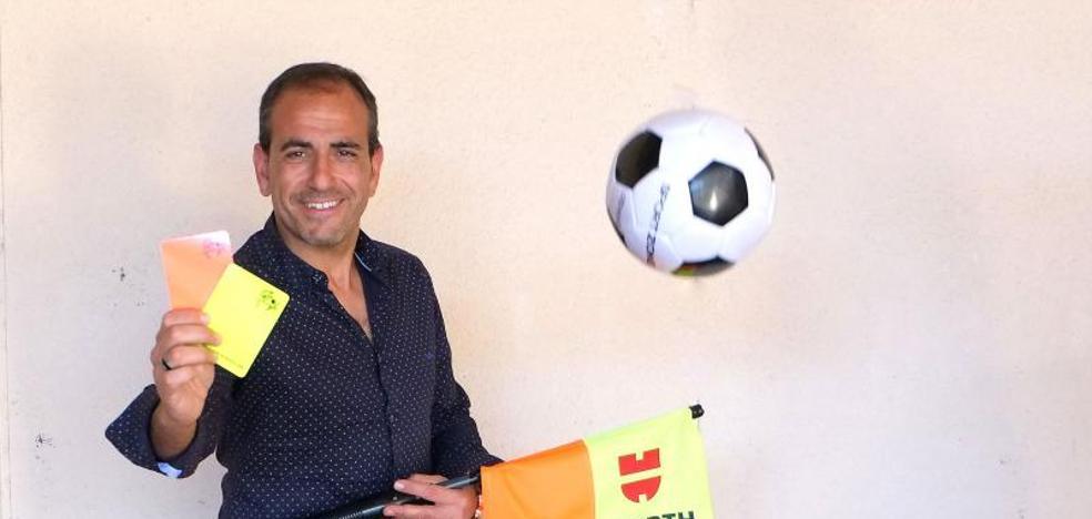 Jesús Zancada se despide del arbitraje