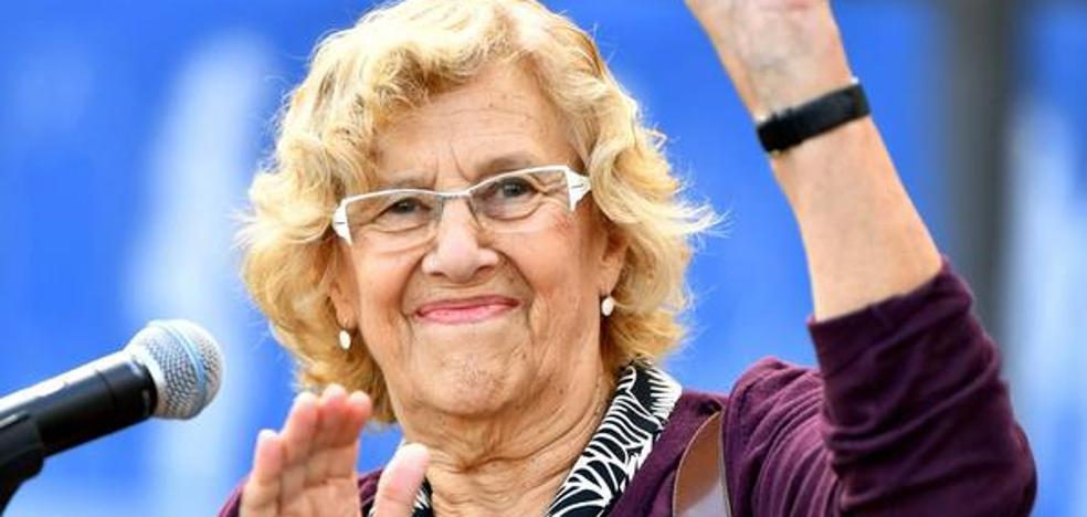 Carmena deja una «puerta entreabierta» a ser candidata en las próximas municipales