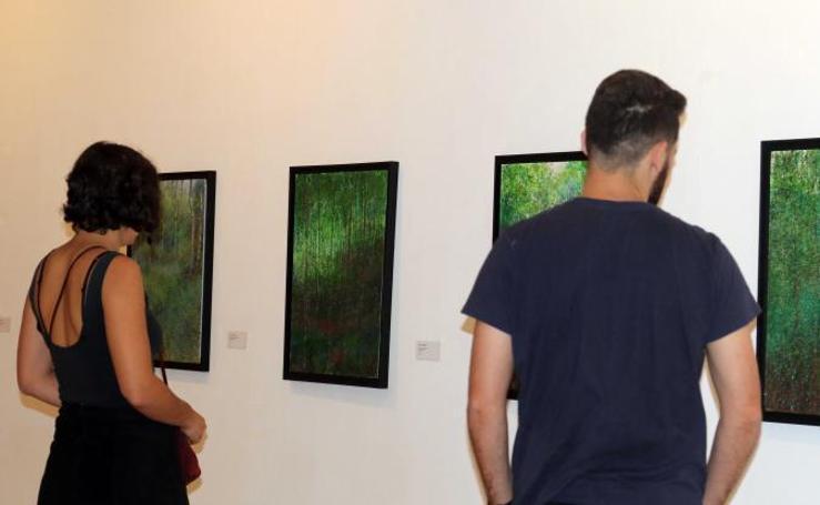 Exposición del pintor Pablo Giménez en el Museo Patio Herreriano de Valladolid