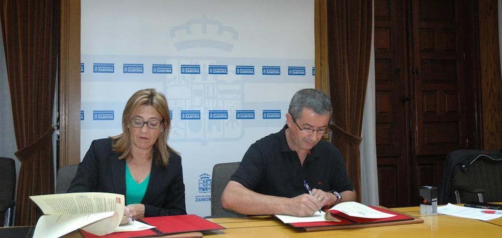 La Diputación financia la ampliación del colector de Castromil