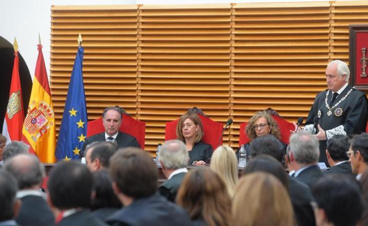 Inauguración el año judicial de Castilla y León en Burgos