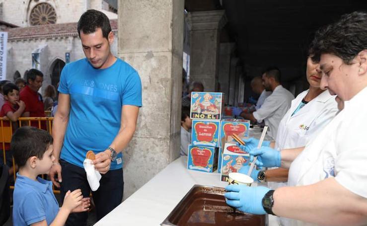 Degustación de chocolate organizada por El Norte de Castilla y Trapa