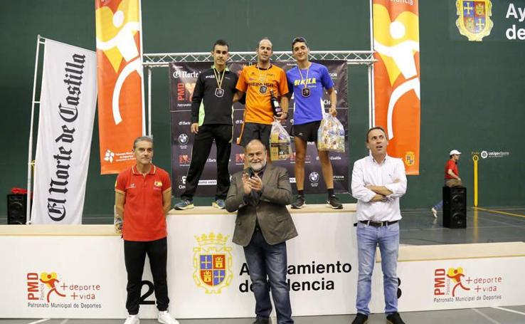 Podios de la Media Maratón de El Norte y la carrera de 5 kilómetros en Palencia