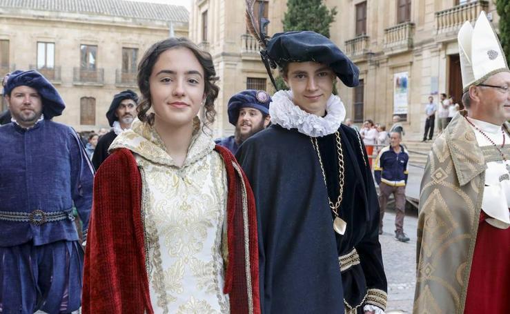 Recreación de las Vísperas Nupciales de Felipe II en Salamanca