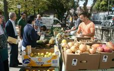 El Fin de Semana Turístico culmina en Cuéllar con el Mercado Ecológico