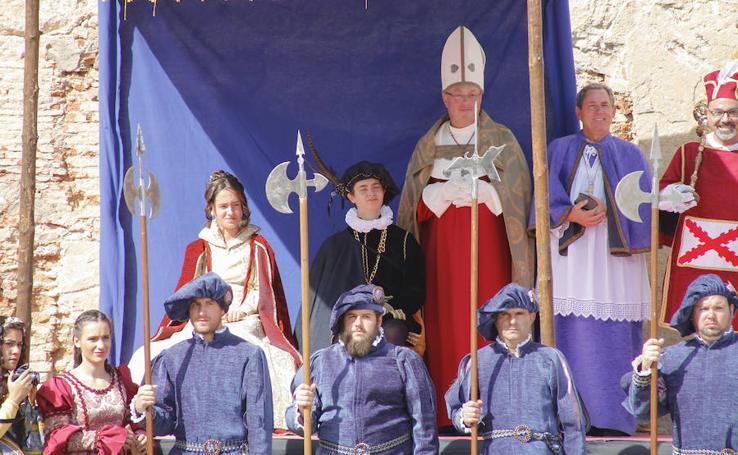 Recreación de las vísperas nupciales de Felipe II en Aldeatejada (Salamanca)