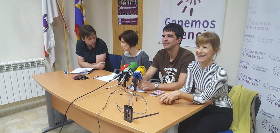 Ganemos reclama que Palencia tome una decisión definitiva sobre la barrera del tren