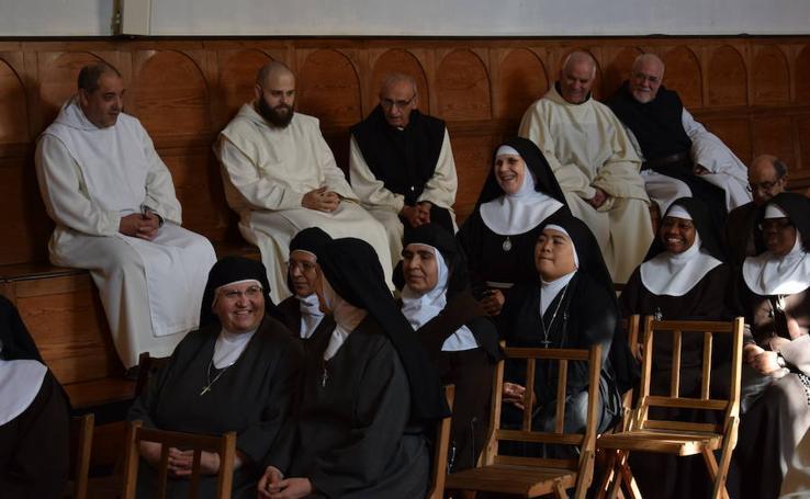 Encuentro de religiosos de vida contemplativa en La Trapa (Palencia)