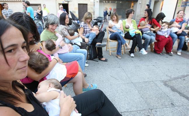 La Junta organiza en Soria varios talleres para promocionar la Semana Mundial de la Lactancia