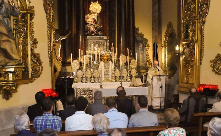 Misa homenaje a la Virgen de las Angustias de Valladolid
