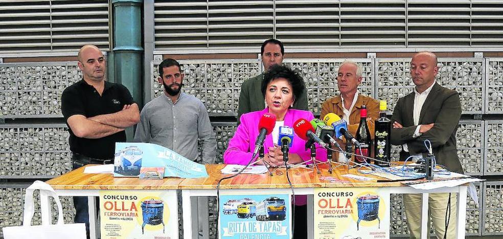 Palencia Abierta ofrecerá el sábado 600 raciones de guiso en olla ferroviaria