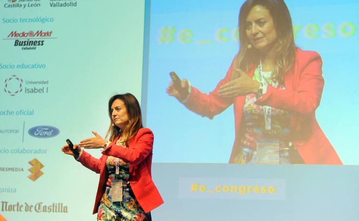 Inauguración y ponencias del V Congreso e-volución que organiza El Norte de Castilla