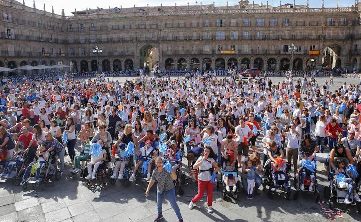 Celebración del Día de la Parálisis Cerebral en Salamanca