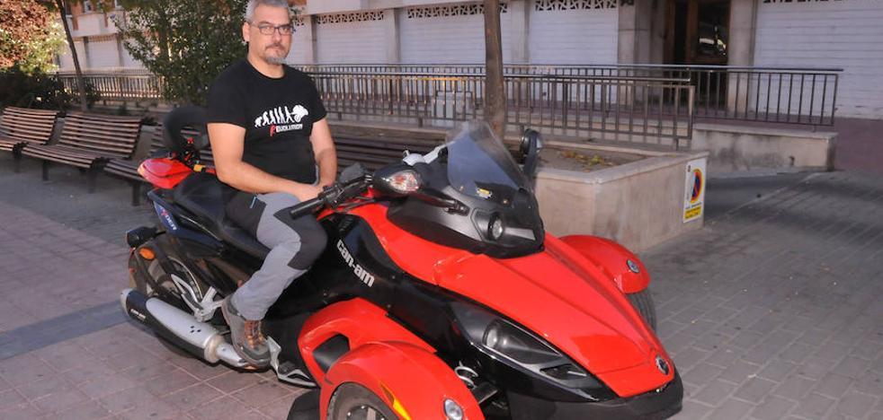 La lucha de Diego contra el «no podrás volver a coger la moto»
