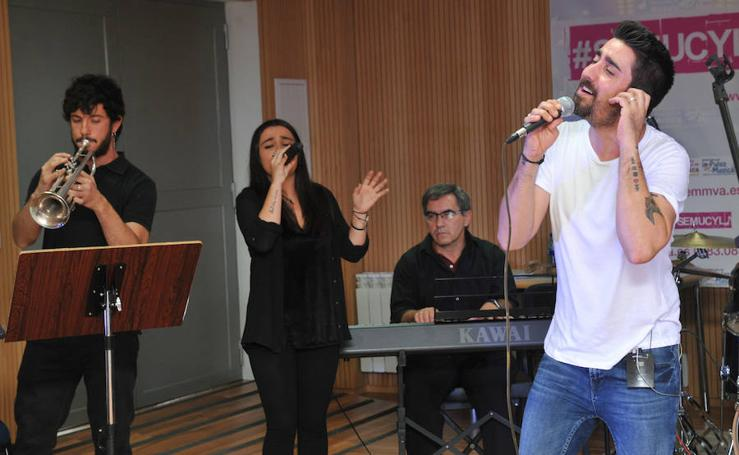 La Escuela de Música de Valladolid recibe la visita de Álex Ubago