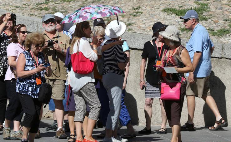 Récord de temperaturas en Segovia en el mes de octubre
