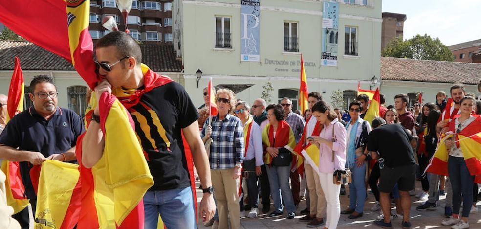 Convocan para el sábado en Palencia dos concentraciones por la unidad de España