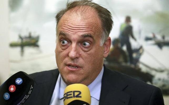 Tebas: «Si hay independencia citaré a los clubes catalanes para saber su opinión»