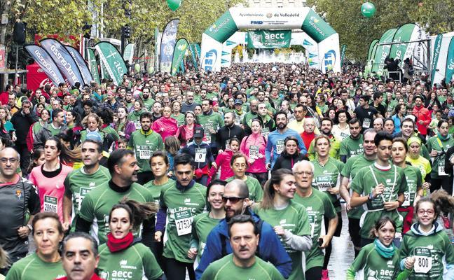 La Marcha Contra el Cáncer de Valladolid pretende alcanzar los 35.000 participantes