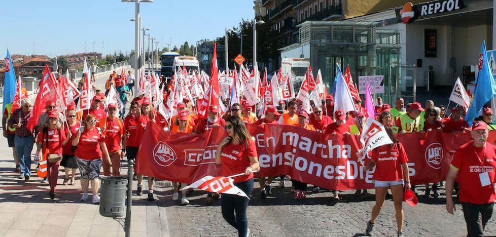 La marcha por unas pensiones «dignas» llega a Segovia