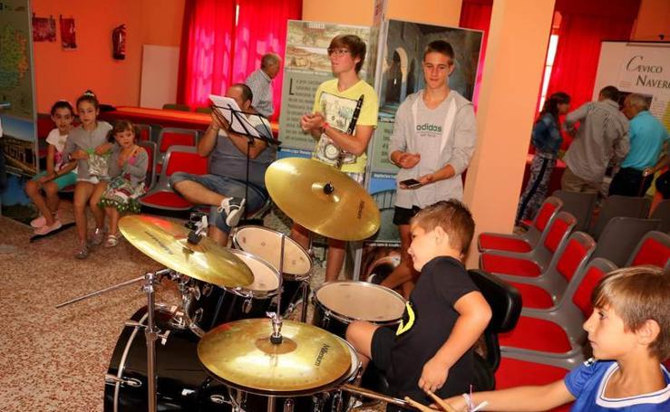 Taller de música en Cevico Navero