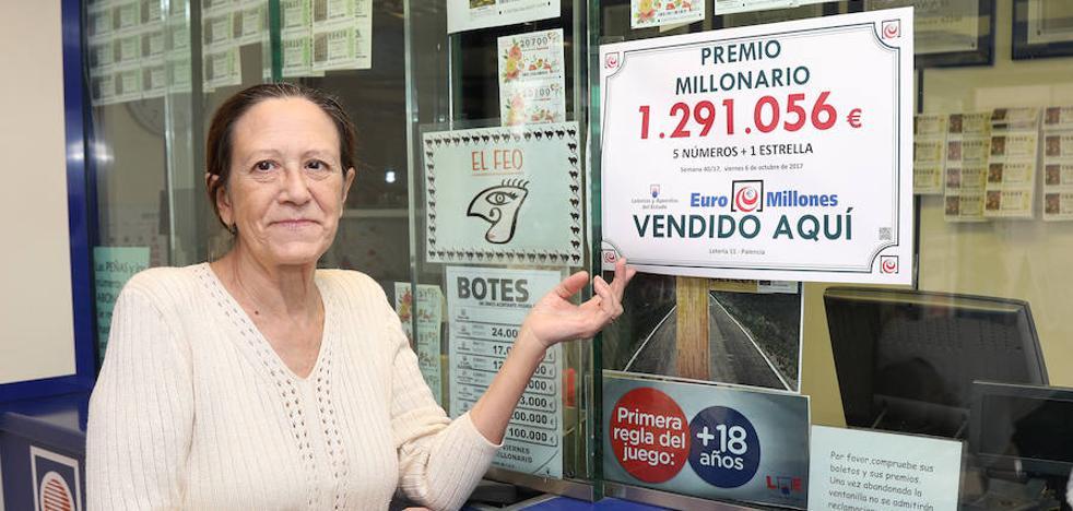 La lotería vuelve a sonreír a Palencia con 1,3 millones