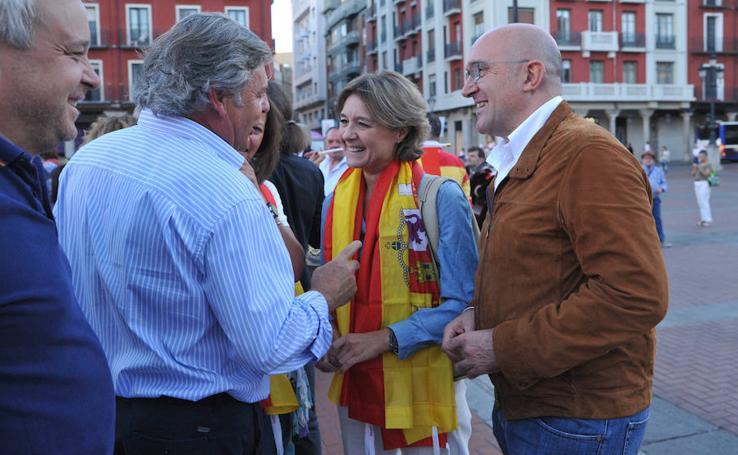 Manifestación por la unidad de España en Valladolid