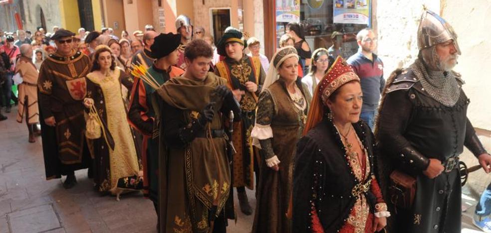 El Mercado Medieval de Tordesillas supera las expectativas