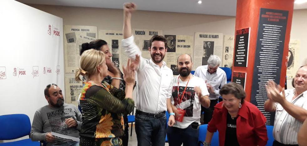 Antidio Fagúndez vence en las primarias del PSOE de Zamora