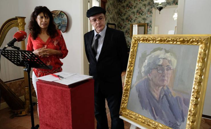 Rosa Chacel se instala en la Casa Zorrilla