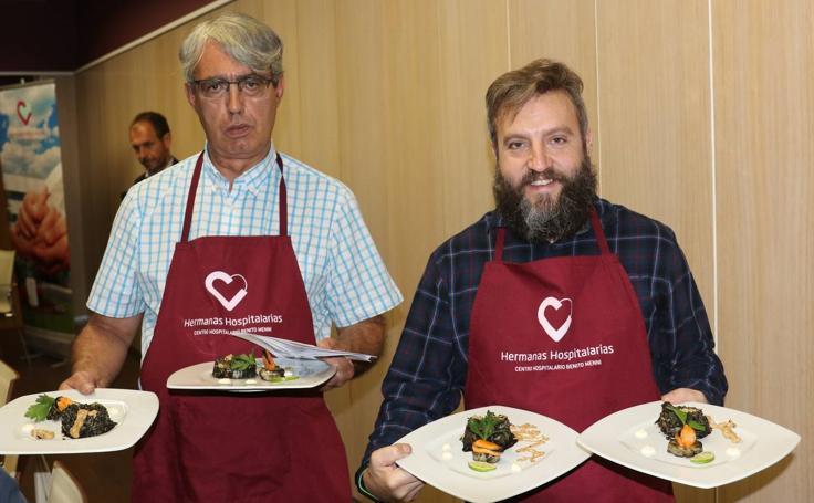 Concurso de Cocina solidaria en el Benito Menni