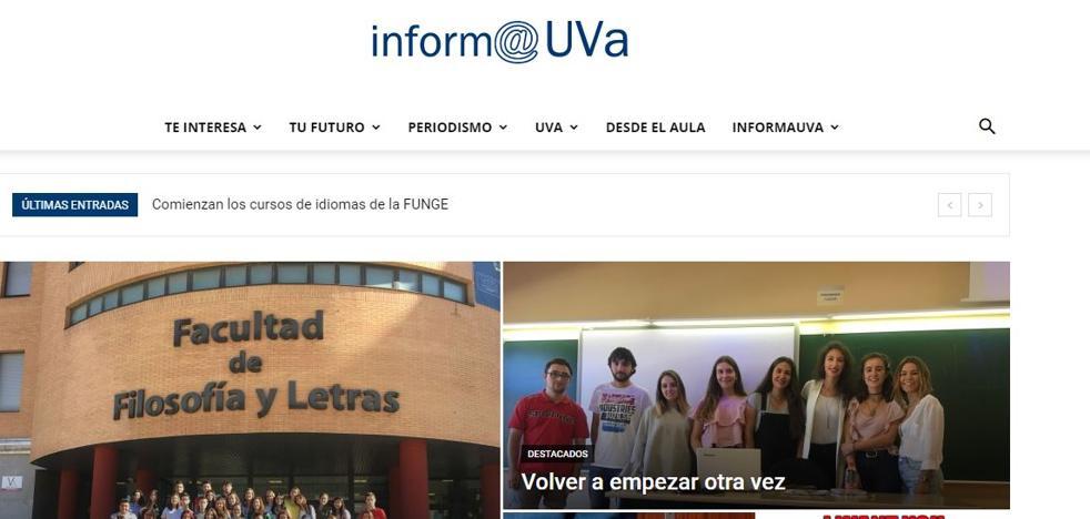 El grado de Periodismo de la UVA lanza la nueva web informauva.com