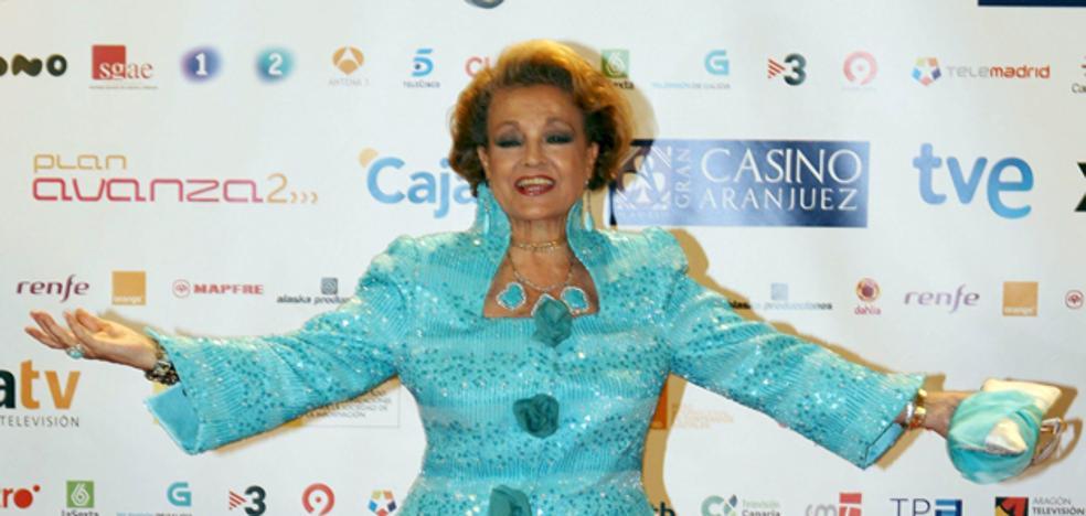 Carmen Sevilla, en estado crítico